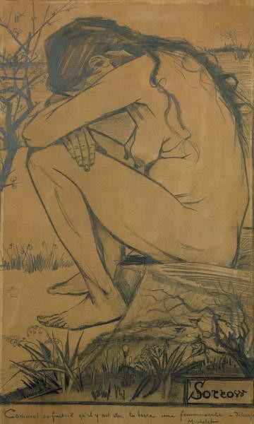 Fine Art Print Sorrow, 1882