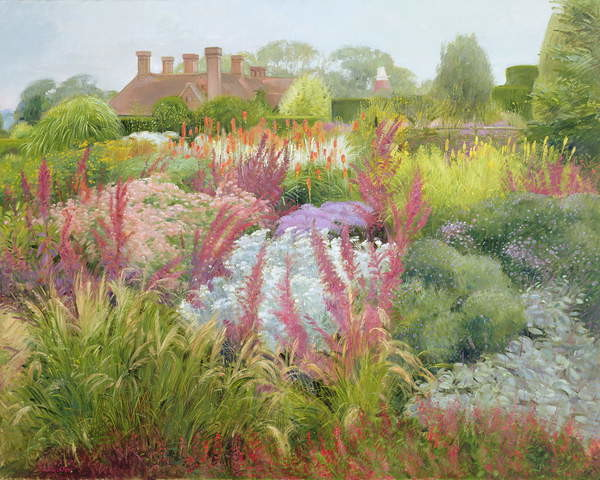 Fine Art Print Spires of Kniphofia and Great Dixter