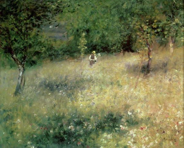 Fine Art Print Spring at Chatou, c.1872-5