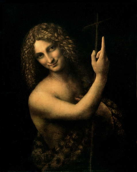 St. John the Baptist, 1513-16 Canvas Print
