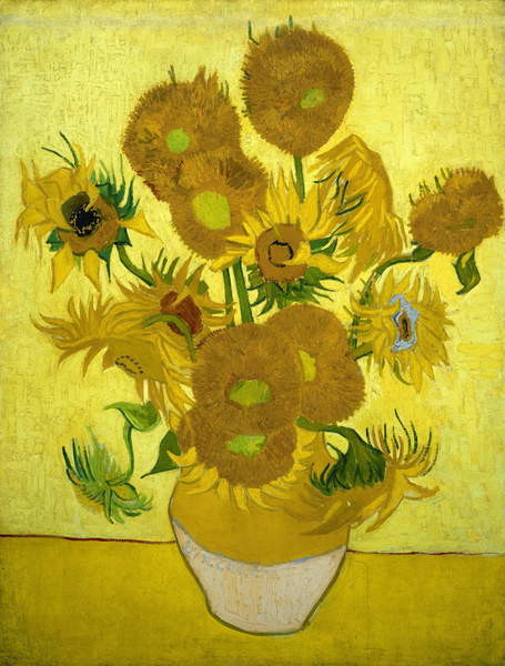 Sunflowers, 1889 Canvas Print