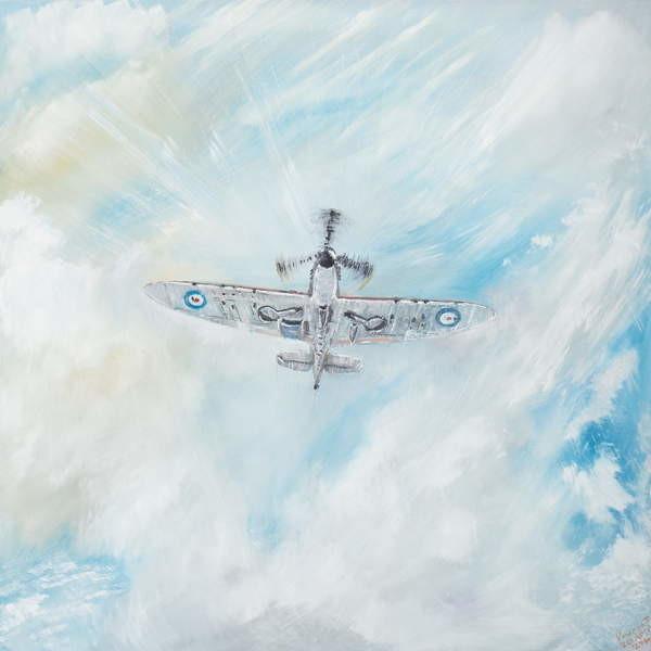 Fine Art Print Supermarine Spitfire, 2014,