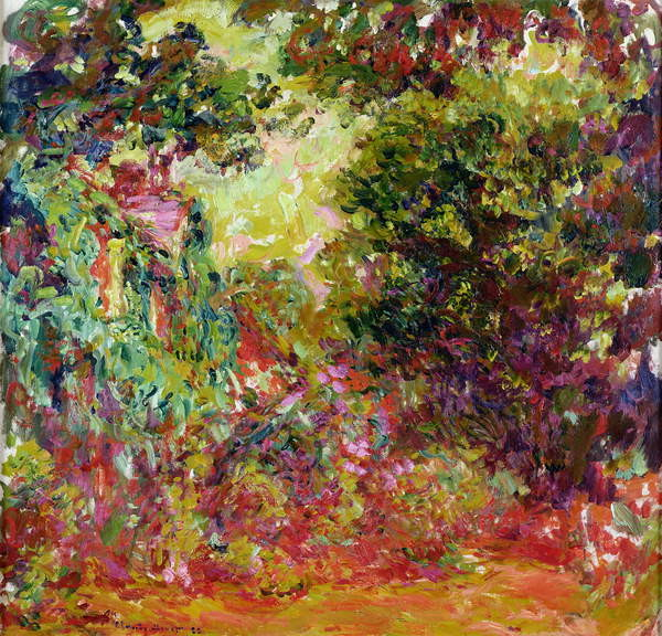 Fine Art Print The Artist's House from the Rose Garden, 1922-24