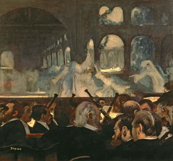 Fine Art Print The ballet scene from Meyerbeer's opera 'Robert le Diable', 1876
