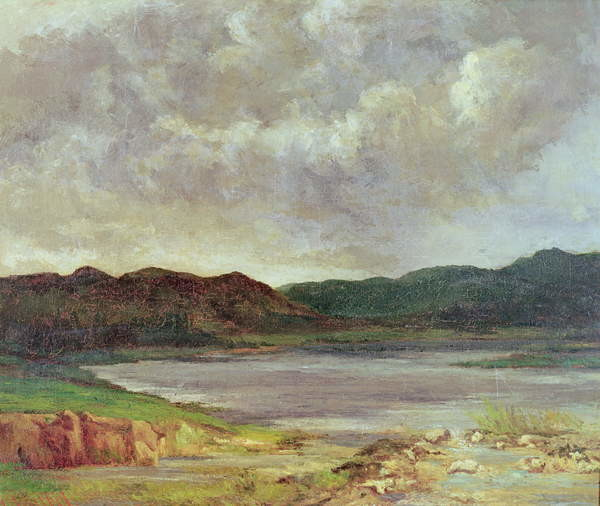 Fine Art Print The Black Lake, 1872