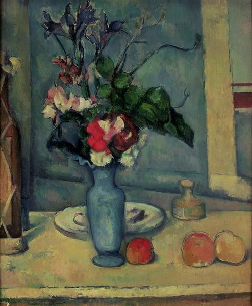 Fine Art Print The Blue Vase, 1889-90
