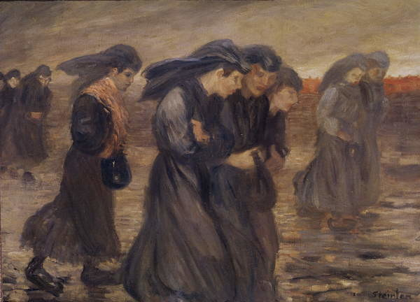 Fine Art Print The Coal Graders, 1905