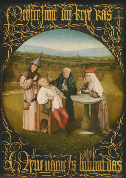 Fine Art Print The Cure of Folly, c.1494
