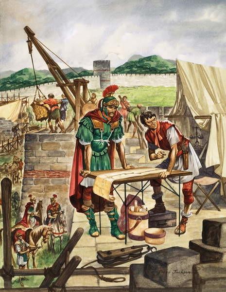 Fine Art Print  The Emperor Hadrian checks work