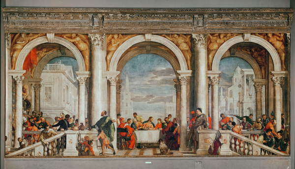 Fine Art Print The Feast in the House of Levi