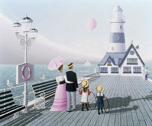 Fine Art Print The Lighthouse, 1996