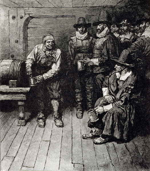 Fine Art Print  'The Master Caused us to have some Beere', from Harper's Magazine, 1883