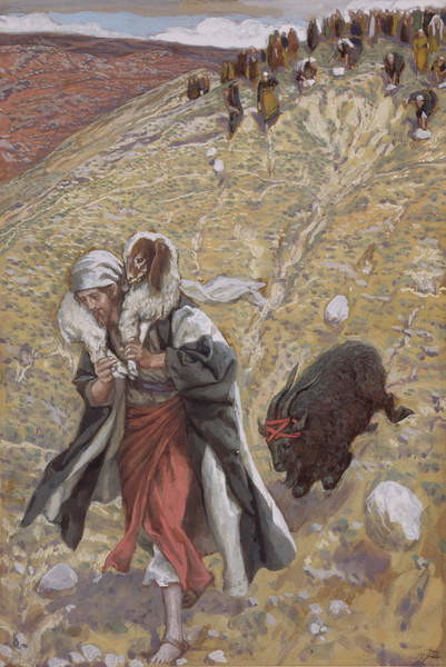 Fine Art Print The Scapegoat, illustration for 'The Life of Christ', c.1886-94