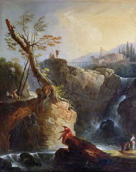 Fine Art Print The Waterfall, 1773