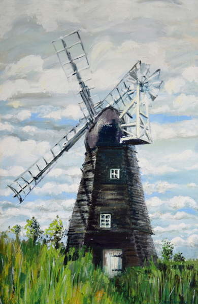 Fine Art Print  The Windmill,2000,
