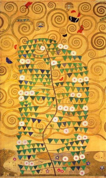 Fine Art Print  Tree of Life (Stoclet Frieze) c.1905-09