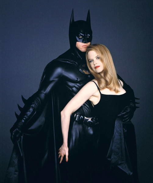 Fine Art Print Reproduction Val Kilmer And Nicole Kidman Batman Forever 1995 Directed By Joel Schumacher