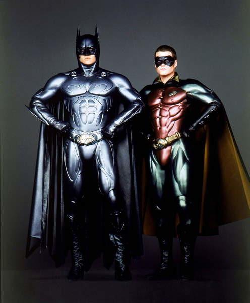 Fine Art Print Reproduction Val Kilmer As Batman And Chris O Donnell Batman Forever 1995 Directed By Joel Schumacher