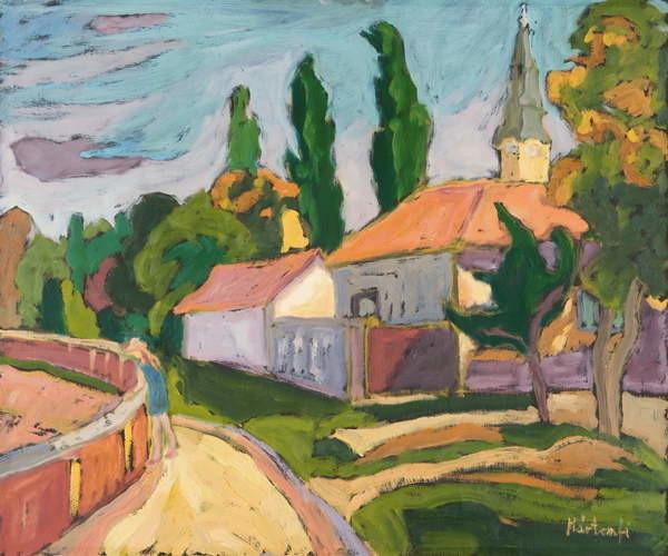 Fine Art Print Village Mood, 2008