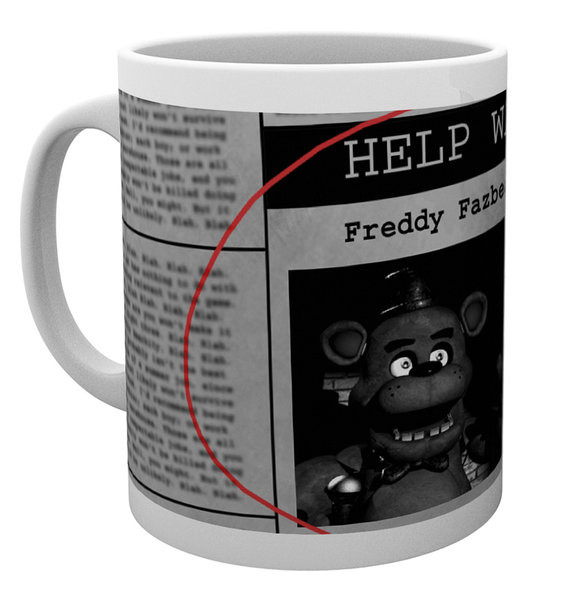 Mug Five Nights At Freddy's - Help Wanted