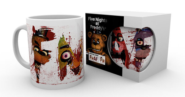 Cup Five Nights At Freddy's - Letters