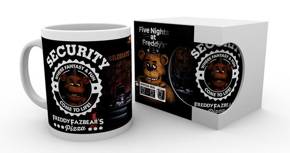 Cup Five Nights At Freddy's - Security