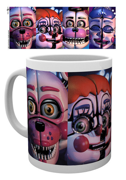 Cup Five Nights At Freddy's - Sister Location Faces