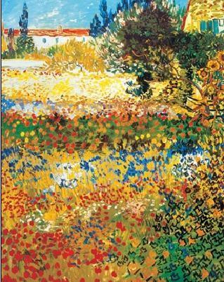 Flowering garden, 1898 Reproduction d'art