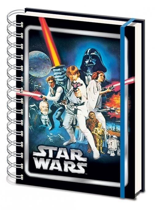 Star wars a new hope a5 notebook fournitures de bureau for Acheter fournitures de bureau