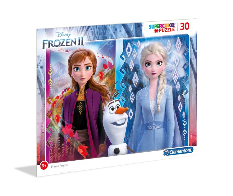 Puzzle Frozen 2 - Frame 4in1