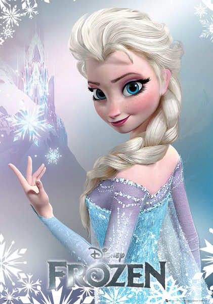 frozen elsa sold at europosters