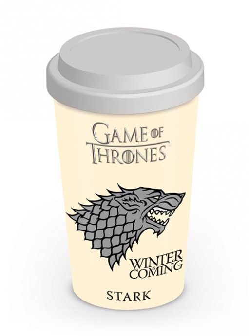 Travel Mug Game of Thrones - House Stark