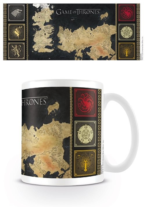 Muki Game of Thrones kartta
