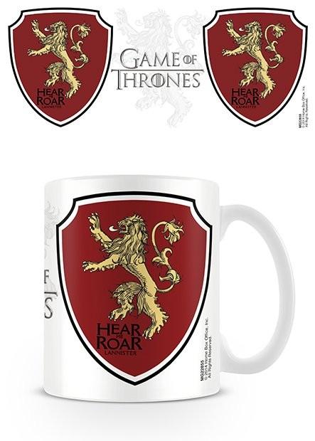 Mug Game of Thrones - Lannister