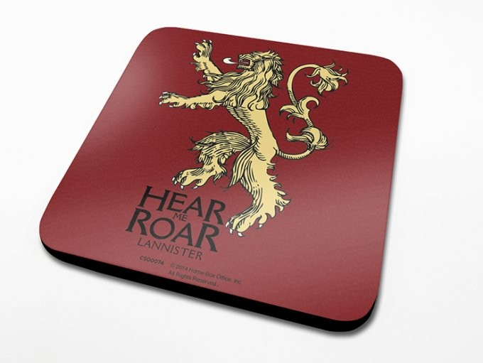 Game of Thrones - Lannister Dessous de Verre
