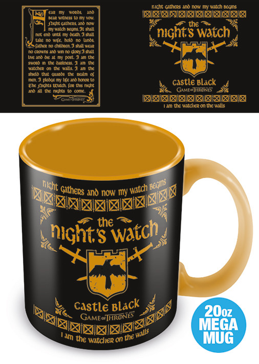 Cup Game Of Thrones - The Nights Watch