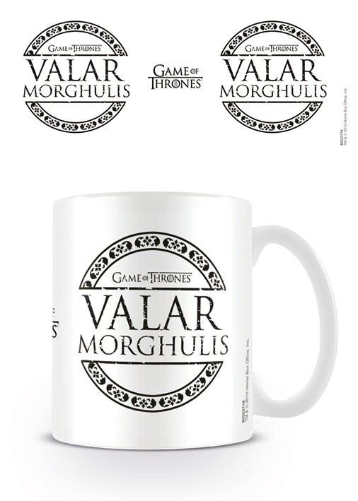 Mug Game of Thrones - Valar Morghulis