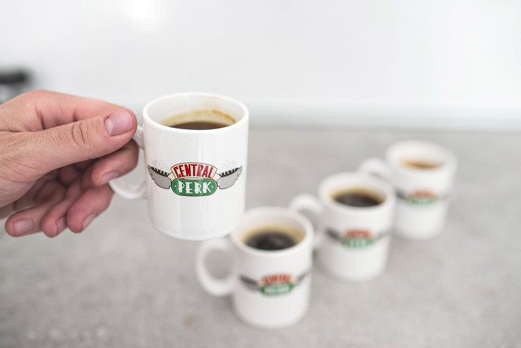 Friends Central Perk - Set 4pcs Original Espresso Mugs Gift set