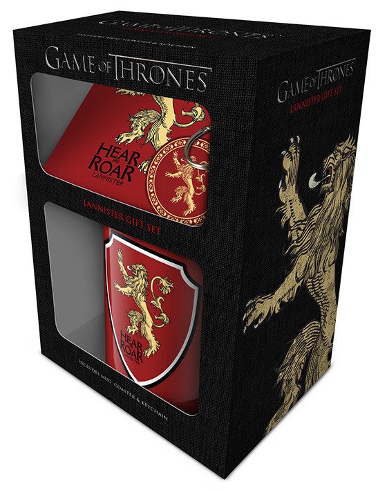 Game of Thrones - Lannister Gift set