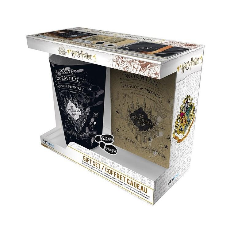 Gift set Harry Potter - Marauder's Map