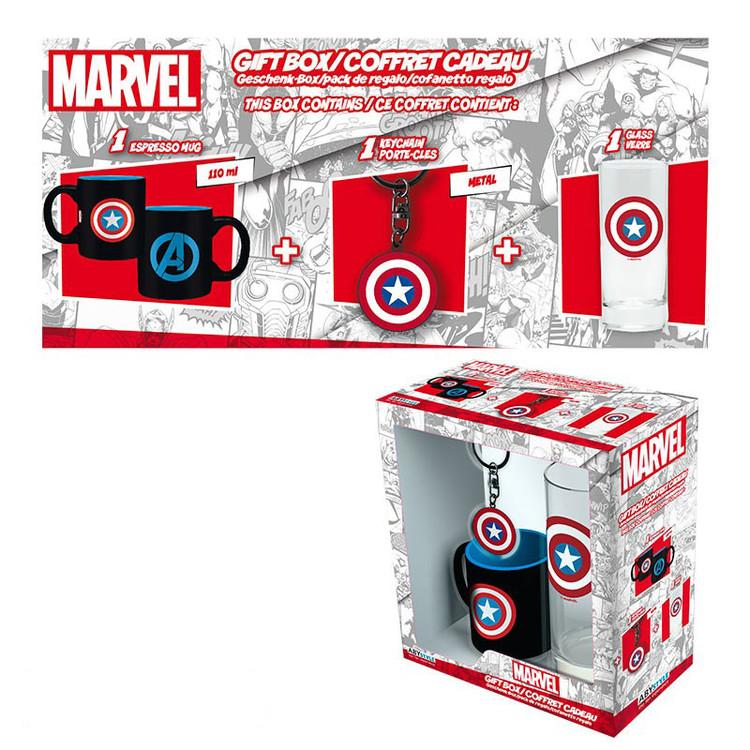Marvel - Captain America Gift set
