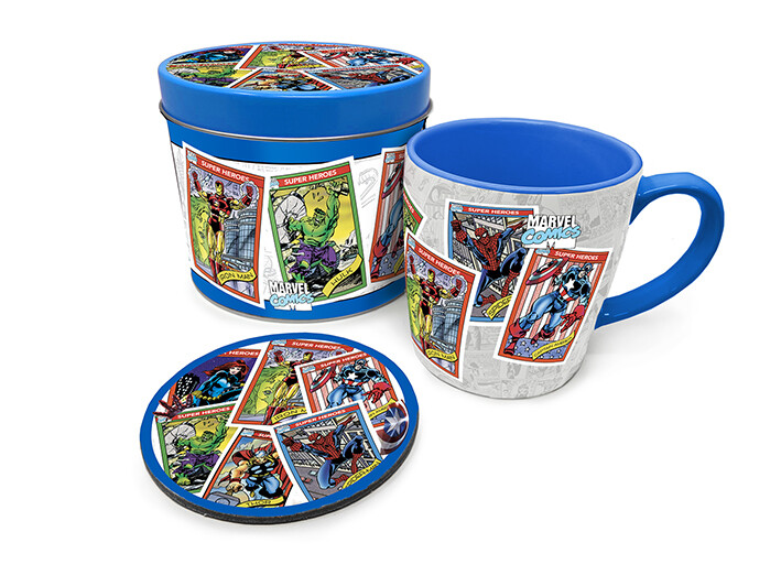 Gift set Marvel Retro - Collector Cards