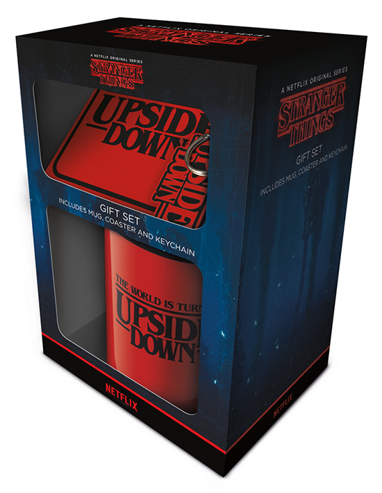 Stranger Things - The World Is Turning Upside Down Gift set