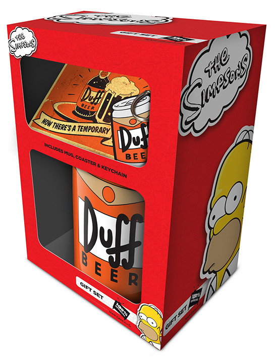 Gift set The Simpsons - Duff