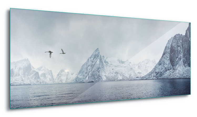 Glass Art  Arctic Flight