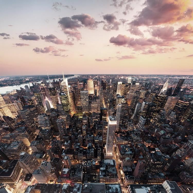 Glass Art City View