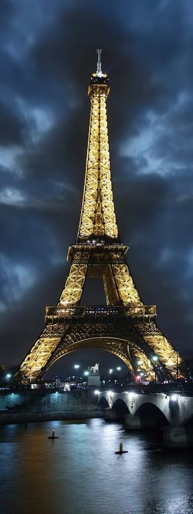 Glass Art Paris - Eifferl Tower at Night