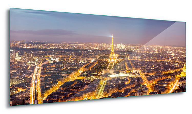 Glass Art  Paris Lights