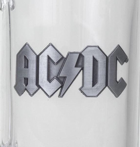 AC/DC - Logo Glass