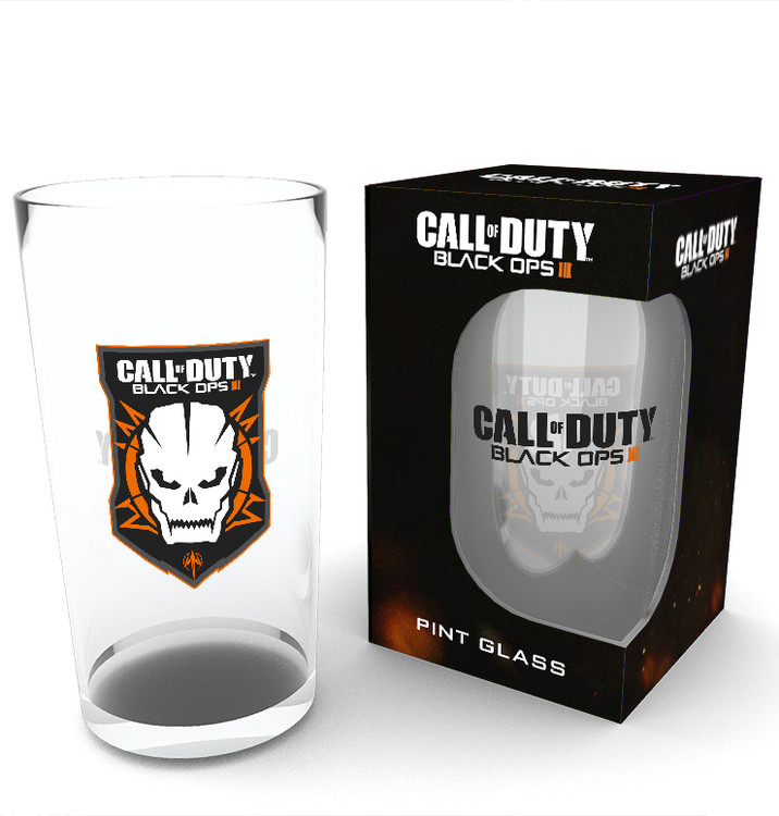 Call of Duty: Black Ops 3 - Logo Glass
